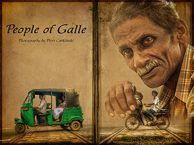 People of Galle by Piotr Cwiklinski