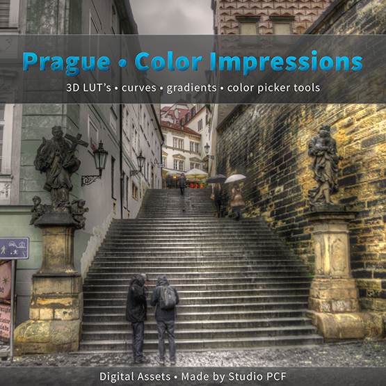 Prague Color Impressions by Piotr Cwiklinski